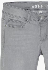 Esprit - PANTS - Slim fit jeans - mid grey denim - 3