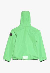 LEGO Wear - JOSHUA JACKET PACKABLE - Hardshellová bunda - green - 1