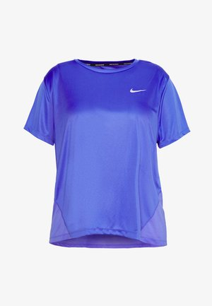 MILER  - T-shirts med print - sapphire/silver