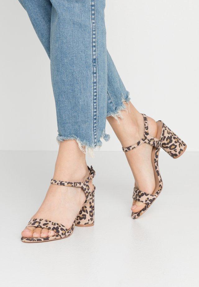 ONLBALSA  - High heeled sandals - beige