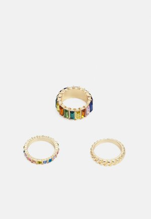PCPEACH 3 PACK - Ring - gold-coloured/multi