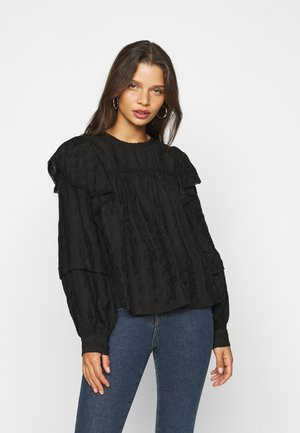 OBJEDEN - Blouse - black