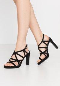 Mariamare - Sandály na vysokém podpatku - black - 0