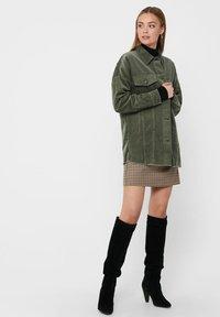 JDY - Button-down blouse - grape leaf - 1