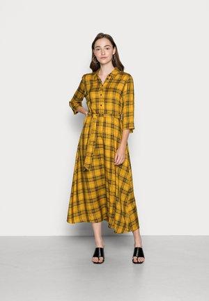 JDYSTAY MIDCALF DRESS - Shirt dress - harvest gold