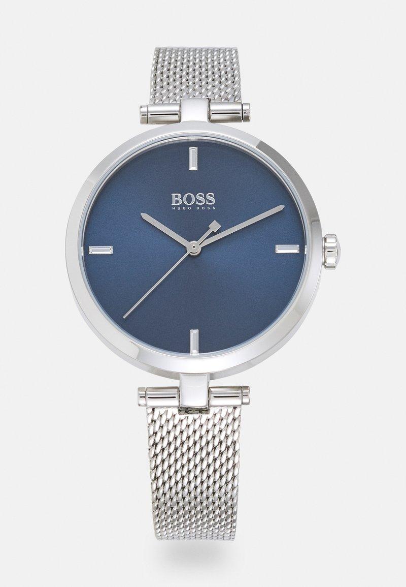 BOSS - MAJESTY - Watch - silver-coloured/blue