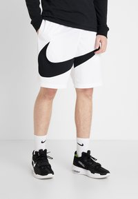 Nike Performance - DRY SHORT - Sports shorts - white/black - 0