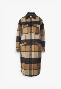 ENQUEENS JACKET - Classic coat - modular check