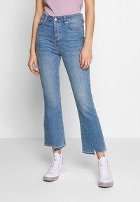 Ivy Copenhagen - REGULAR WASH DARK - Jeans relaxed fit - denim blue - 0
