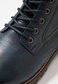 Pantofola d'Oro - PONZANO UOMO HIGH - Lace-up ankle boots - dress blues - 5