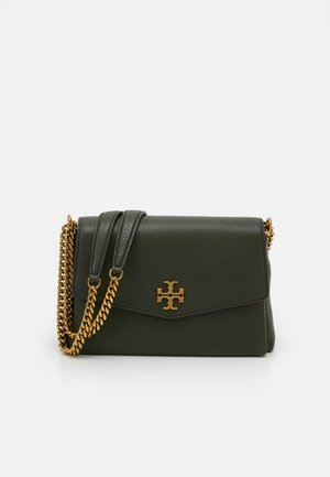 KIRA PEBBLED SMALL CONVERTIBLE SHOULDER BAG - Torebka - poblano
