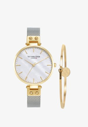 RIVER THAMES PERLMUTT SET - Horloge - gold silber