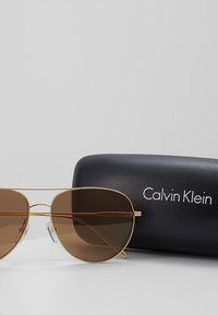 Calvin Klein - Sunglasses - gold - 3
