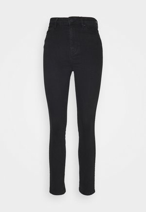 SADIE CROPPED THINKTWICE - Vaqueros pitillo - black denim