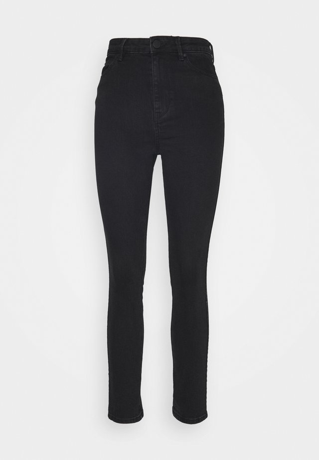 SADIE CROPPED THINKTWICE - Jeans Skinny - black denim