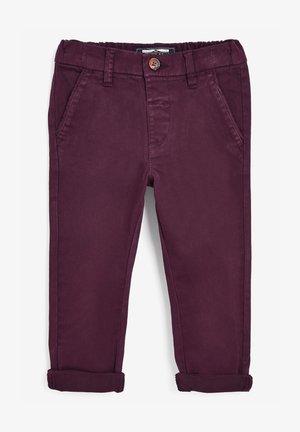 STRETCH - Chino kalhoty - dark purple
