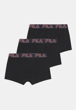 BOYS LOGO 3 PACK - Pants - black