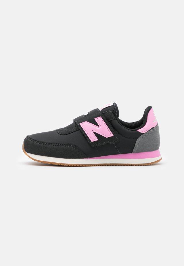 Baskets basses - black/pink