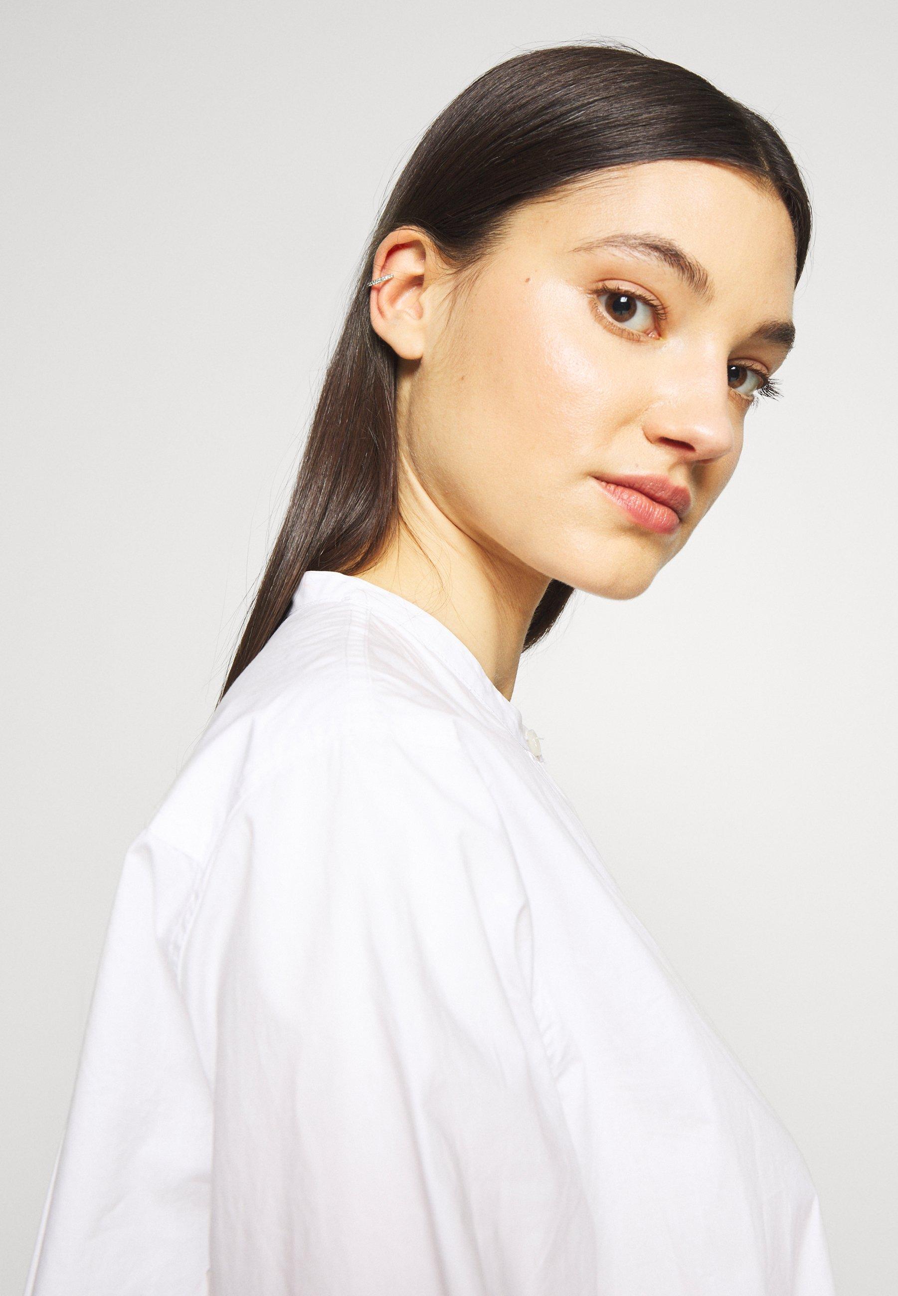 Maria Black Colore Ear Cuff - Ohrringe Silver-coloured/silber