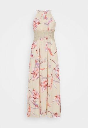 VIMILINA FLOWER MAXI DRESS - Maxikleid - birch/lana