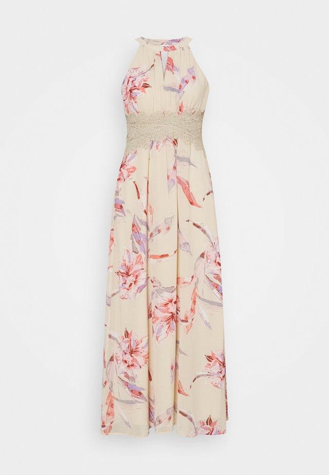 VIMILINA FLOWER MAXI DRESS - Maxi dress - birch/lana