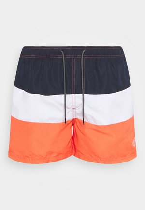 JJIBALI COLORBLOCK - Shorts da mare - hot coral
