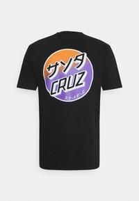 Santa Cruz - UNISEX - Print T-shirt - black - 1