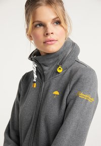 Schmuddelwedda - Zip-up hoodie - steingrau melange - 3