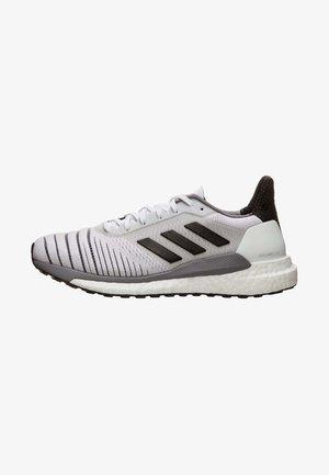 SOLAR GLIDE W - Hardloopschoenen neutraal - footwear white/core black/grey heather