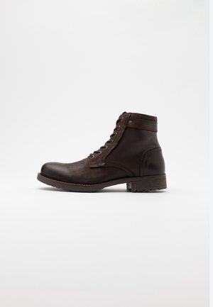 JFWANGUS - Lace-up ankle boots - brown stone