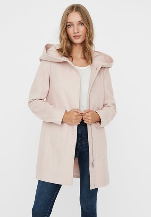 Manteau court - sepia rose