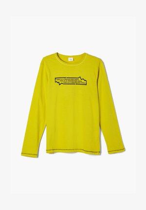 REFLEKTIERENDEM PRINT - Longsleeve - light yellow