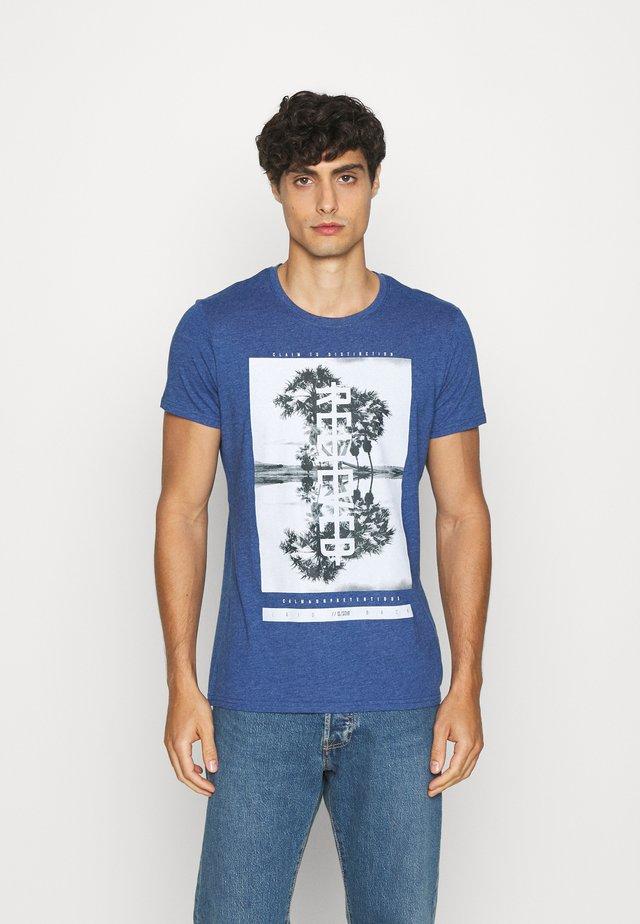 KURZARM - T-shirt imprimé - dark ocean