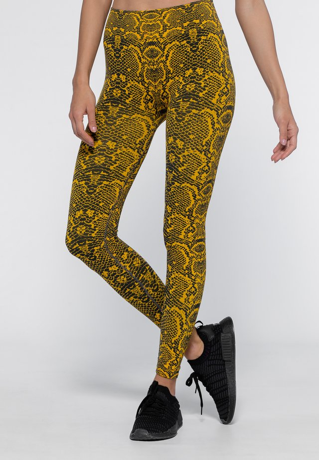 Legging - sunflower yellow/dark grey