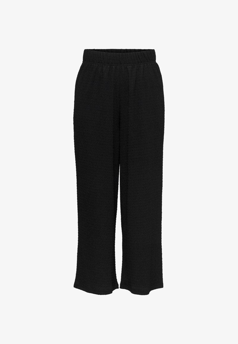 ONLY - ONLSANDRA 7/8 PANTS JRS - Tracksuit bottoms - black