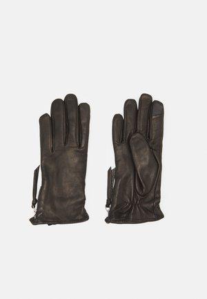 GROUND GLOVES TOUCH - Handschoenen - black