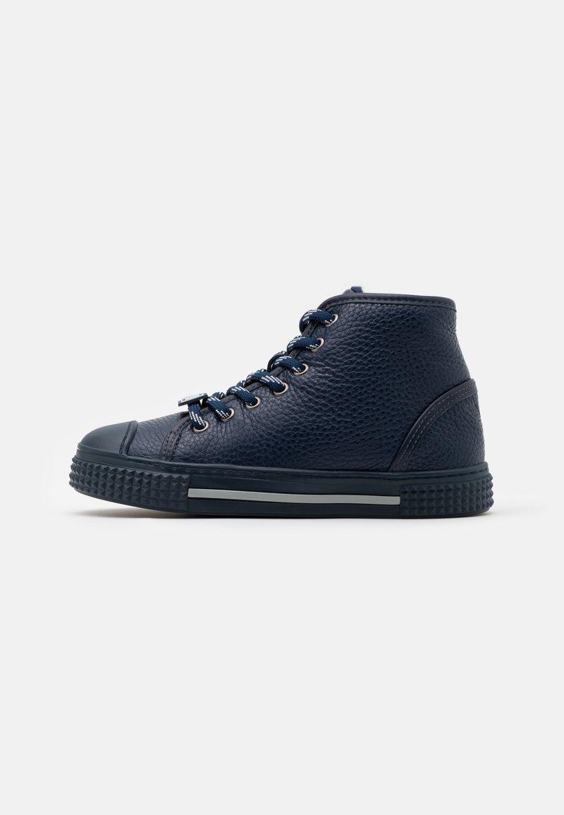 Emporio Armani - High-top trainers - dark blue