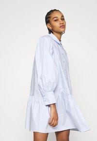 EDITED - RYLEE DRESS - Shirt dress - blau - 3