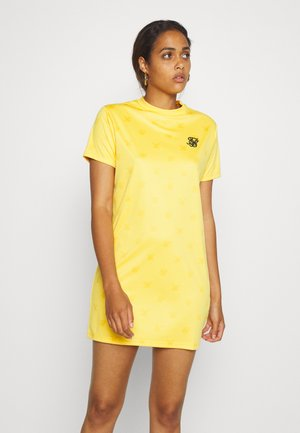 MONO DRESS - Jersey dress - yellow