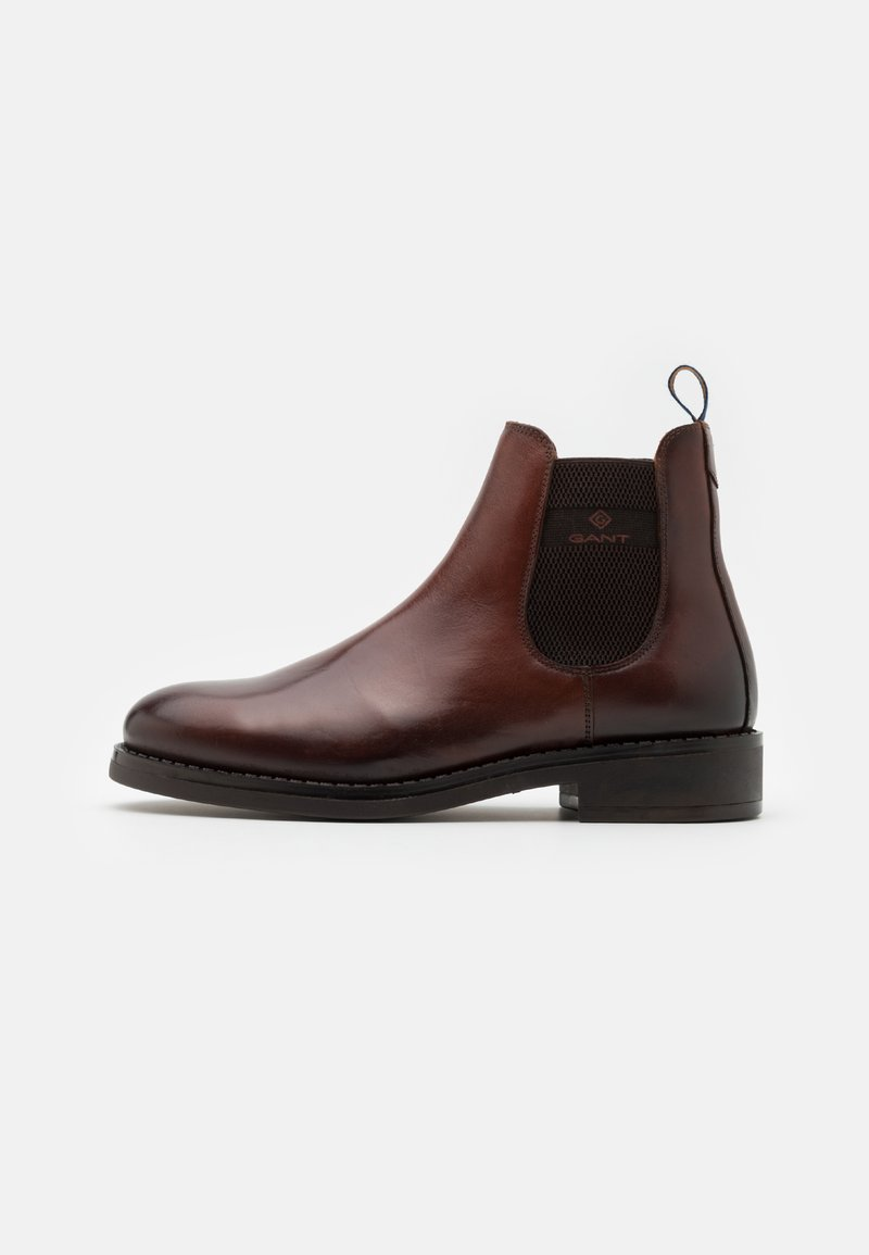 GANT - BROOKLY - Classic ankle boots - cognac
