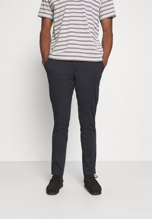 SLHSLIM PETE FLEX STRING - Trousers - dark navy