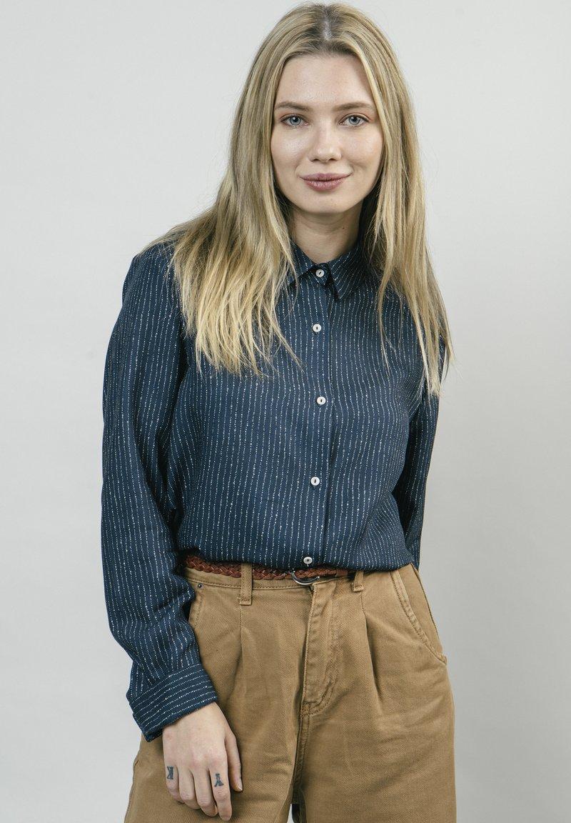 Brava Fabrics - Button-down blouse - blue