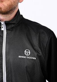 sergio tacchini - CARSON  - Training jacket - black/white - 3