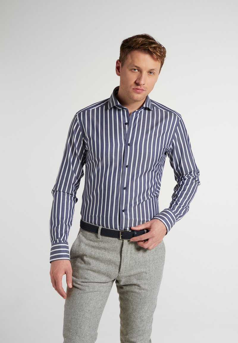 Eterna - Shirt - marine/weiß