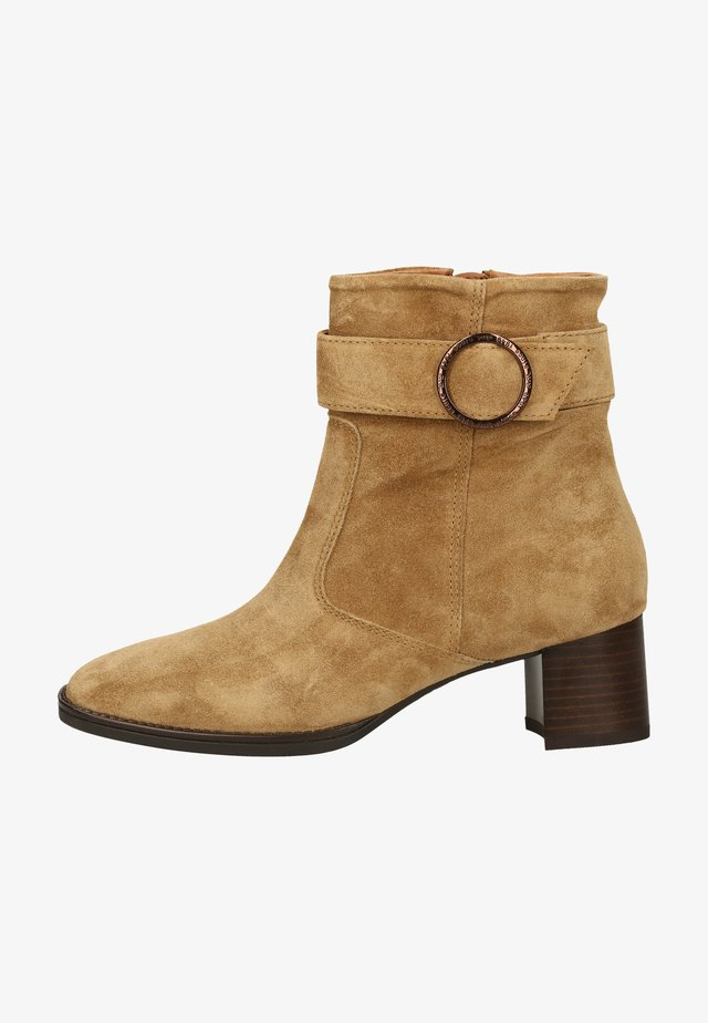 Ankle boot - toffee