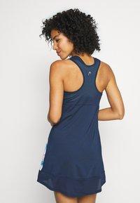 Head - DEMI DRESS - Jerseykjole - caleido royal/dark blue - 2