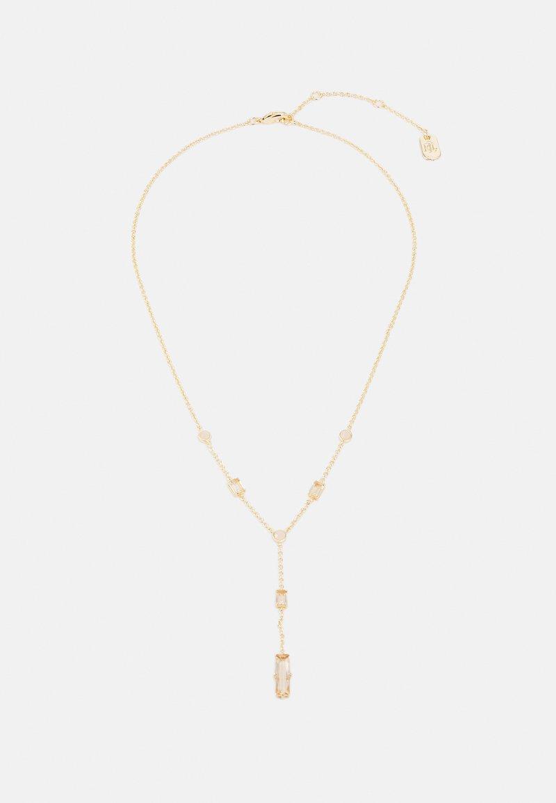 Lauren Ralph Lauren - STONE YNECK - Necklace - gold-coloured/pink