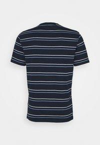 Club Monaco - STRIPE TEE - Print T-shirt - navy multi - 7