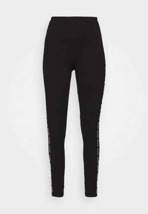 HOLIDAY GRAPHIC  - Leggings - black side tape