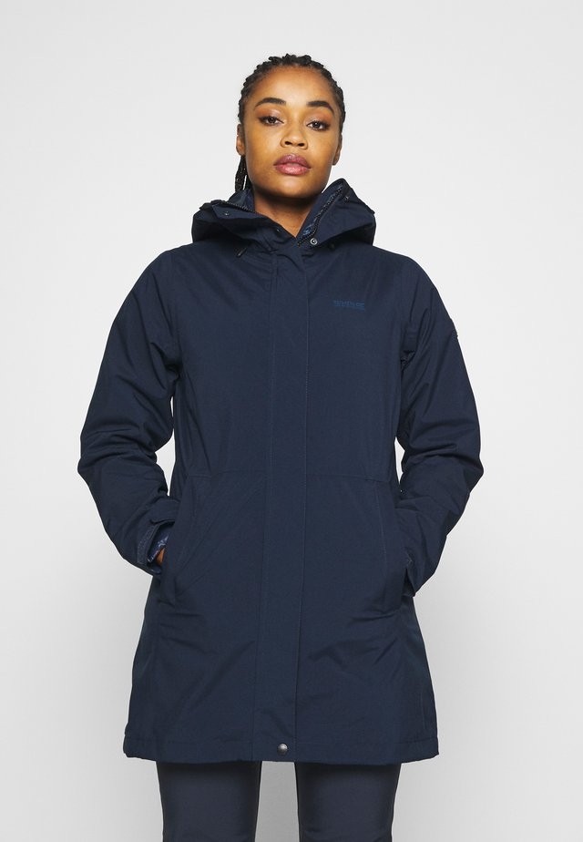 DENBURY 2-IN-1 - Parkas - navy